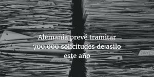 700.000 solicitudes de asilo